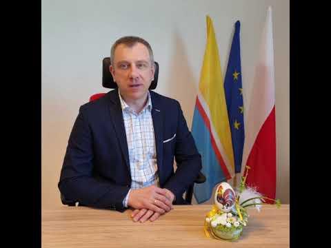 Wielkanocne życzenia burmistrza Arkadiusza Strzyżewskiego