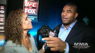 UFC 141's Alistair Overeem Says Brock Lesnar Has Weak Stand-up + He's Still Strikeforce Champ