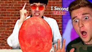 Guy Can Eat This WATERMELON In ONE SECOND!
