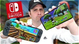 Fortnite Mobile - SWITCH VS MOBILE PLAYERS - Good Idea???