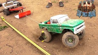 "RC ADVENTURES - Trail Trucks Pulling Weight! ""THE JUDGE"" SLED PULL! RUDE BOYZ RC TTC 2017 (PT 5)"