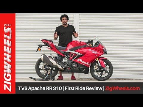 TVS Apache RR 310: Video Review