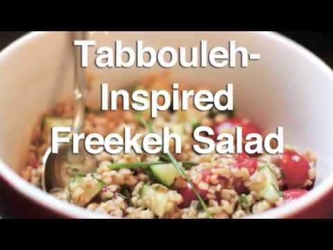 Tabbouleh-Inspired Freekeh Salad Recipe