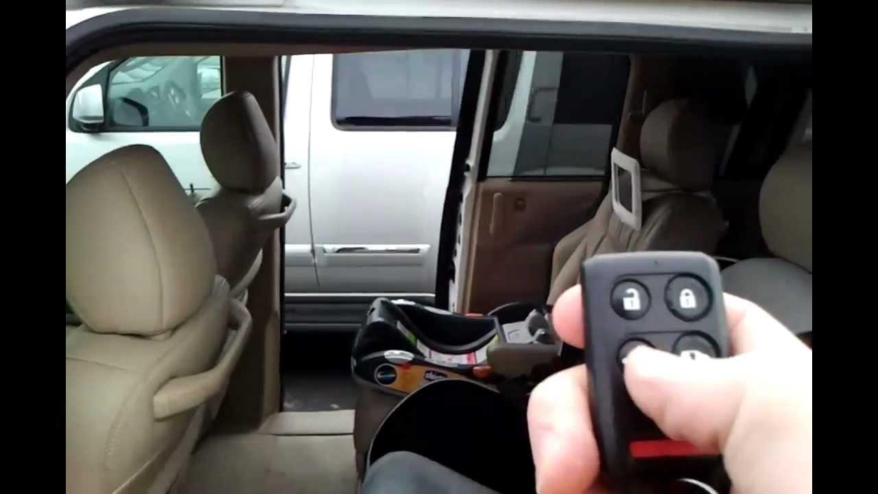 2007 Honda Odyssey Automatic Door Problems Youtube