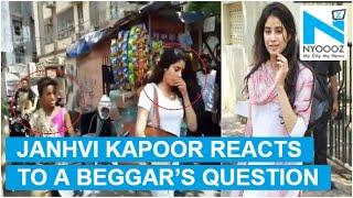Beggar asks Janhvi Kapoor about Sridevi..