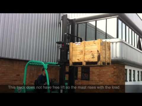 Forklift Truck Free Lift Demonstration