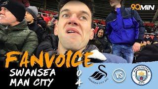 Silva and De Bruyne destroy Swansea!   Swansea 0-4 Man City   90min Fanvoice