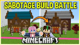 I Challenged My Wife to a Sabotage Build Battle