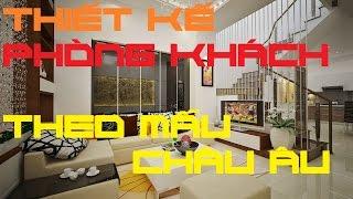 Các mẫu nội thất phòng khách đơn giản hiện đại - Nhà Xinh