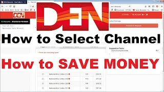 How to Select Channel in DEN Cable as per New TRAI Rules