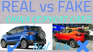 COPYCAT CARS IN CHINA 🇨🇳 OF INDIAN CARS