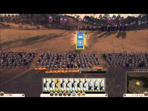 Total War: Rome 2 Online Battle #0165: Picked Hoplites