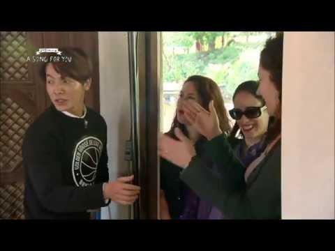 141107 SUBESPAÑOL- ASFY Fans Kiss a Donghae y Kyuhyun de Super Junior