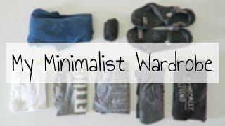 My Minimalist Wardrobe | LESS THAN 25 ITEMS