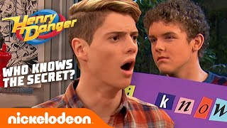 Who ACTUALLY Knows Henry Danger's Superhero Secret? 🤔 | Nick