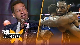 Chris Broussard on how the Lakers could land LeBron, Chris Paul and Paul George | NBA | THE HERD