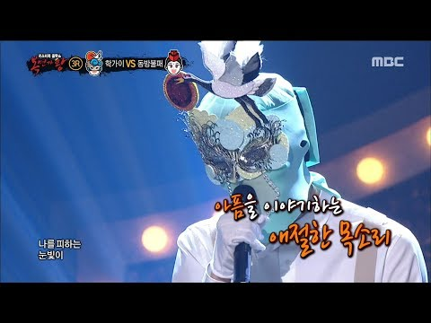 [King of masked singer] 복면가왕 - 'crane guy' 3round - The fool 20180225
