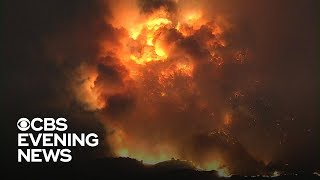California wildfires burn more than 100,000 acres