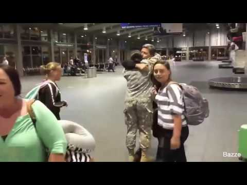 Best Military Homecoming Surprises 2017