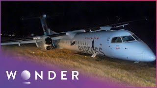 The Most Terrifying Plane Landings Ever Captured On Camera | Super Scary Plane Landings | Wonder