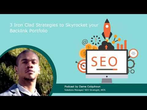3 Iron Clad Strategies to Skyrocket your Backlink Portfolio