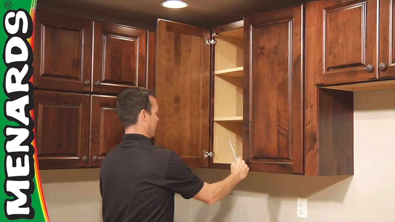 how do you install kitchen cabinets kitchen cabinet installation how to menards 8441