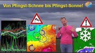 Pfingst-Schnee? Hauptlauf extrem kalt! Aktuelle Wind-, Schauer- & Wettervorhersage 15. bis 24. Mai