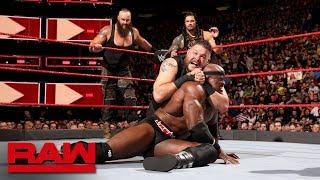 Reigns, Strowman & Lashley vs. Mahal, Owens & Zayn: Raw, April 30, 2018