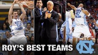 UNC Basketball: Top 4 Teams Under Roy Williams