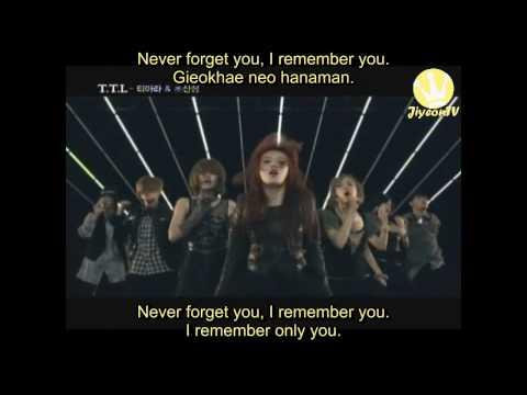 [HD] T-ara & Supernova - T.T.L (Time To Love) MV (Eng Sub & Rom.)
