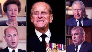The Queen & Prince Philip's children make heartbreaking remarks about their dear father on TV