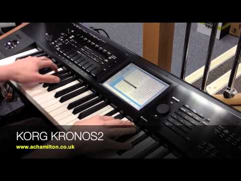 KORG KRONOS 2 (KRONOS 2015) Demo - Sounds / Combis