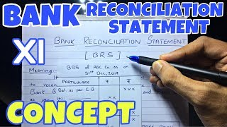 #1 Bank Reconciliation Statement - Concept -By Saheb Academy - Class 11