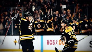 Boston Bruins 2018-19 Playoff Pump-Up
