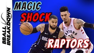 Magic Never Give  Up, Shock Raptors In Game 1