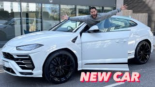 MY NEW LAMBORGHINI URUS IS HERE! *DELIVERY DAY*