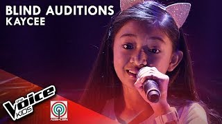 Salamat by Kaycee David | The Voice Kids Philippines Blind Auditions 2019