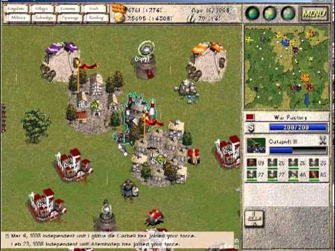 Seven Kingdoms Ancient Adversaries Multiplayer gameplay