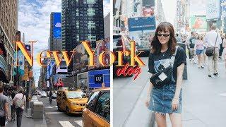 New York Vlog: Times Square & Shopping for Designer Sales in Soho!