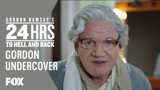 Gordon Goes Undercover As A Granny | Season 2 Ep. 5 | GORDON RAMSAY'S 24 HOURS TO HELL & BACK