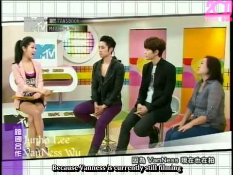[TIME2SUB] 120421 MTV FansBook - Junho & Vanness (eng subs)