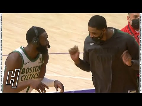 Jaylen Brown Postgame Interview - Celtics vs Lakers   April 15, 2021   2020-21 NBA Season