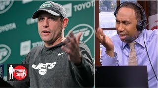 Stephen A. goes on a rant about the Jets | Stephen A. Smith Show