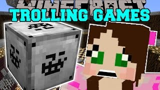 Minecraft: TROLLING CHALLENGE GAMES - Lucky Block Mod - Modded Mini-Game