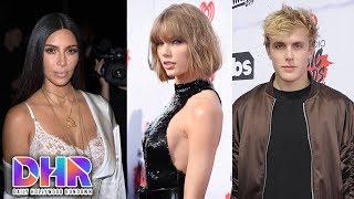 Kim Kardashian Responds To Taylor Swift Snake Drama - Jake Paul BANNED From Vlogging (DHR)