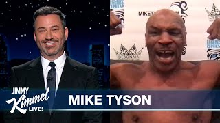 Mike Tyson on Return to Boxing, Roy Jones Jr. Fight & Loving the Haters