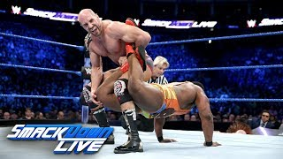 The New Day vs. The Bar - Men's Money in the Bank Qualifying Match: SmackDown LIVE, May 15, 2018