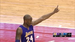 Kobe Bryant 31 Points (Mr. Clutch) at Washington Wizards - Full Highlights 02/12/2015