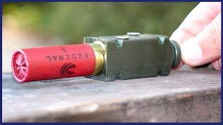 Shotgun Shell exploding OUTSIDE a gun - What Happens?