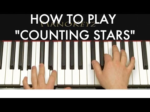 Baixar How to Play Counting Stars by OneRepublic on Piano